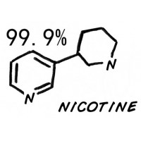 E-nicotine 99% Pure Solution for E-Liquid