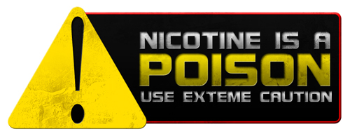 nicotine caution